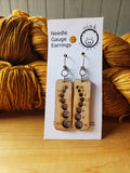 Needle Gauge Earrings