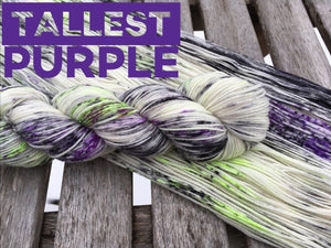 January 2020 Yarn of the Month: Tallest Purple (pre-order)