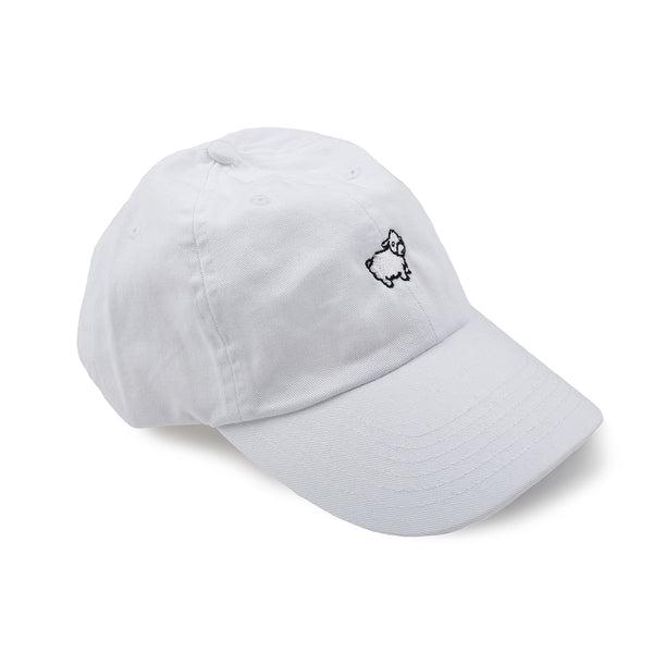 Featured Product: White Micro Sheep Dad Hat
