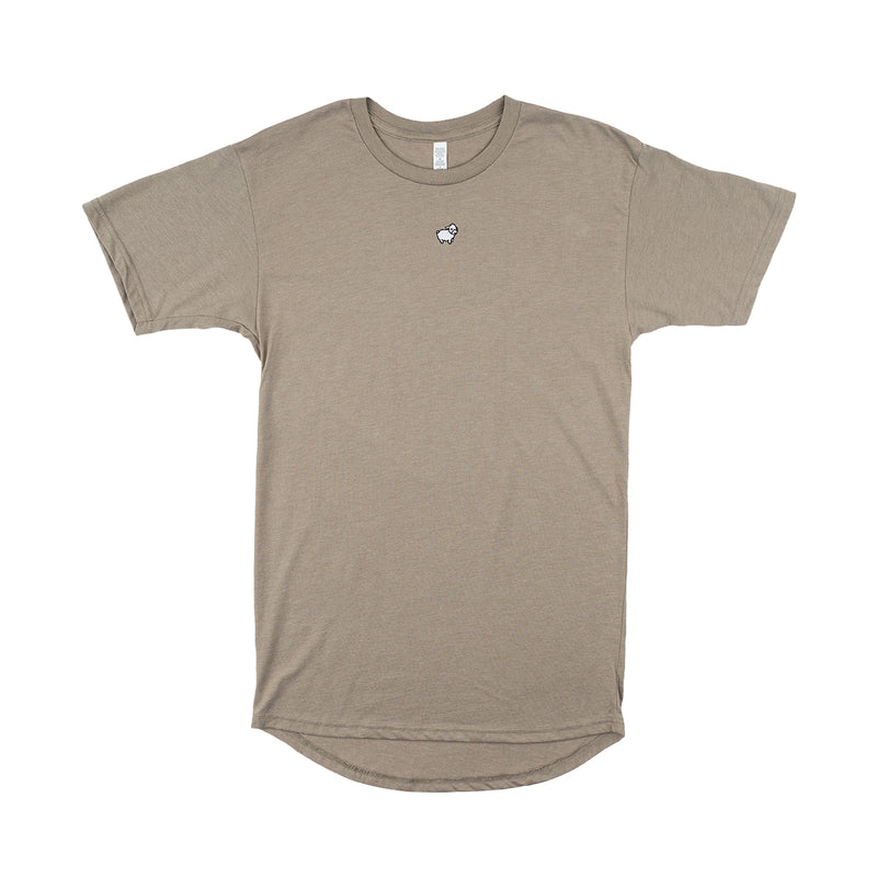 Micro Sheep Long Body T-Shirt