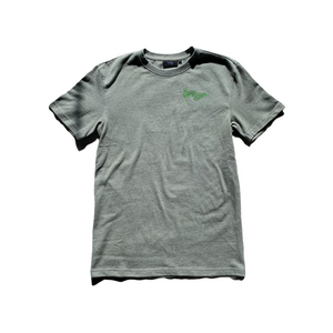 Flag/Cleaver Premium T-Shirt - Grey Heather