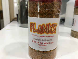 Planks Spicy All Purpose Seasoning