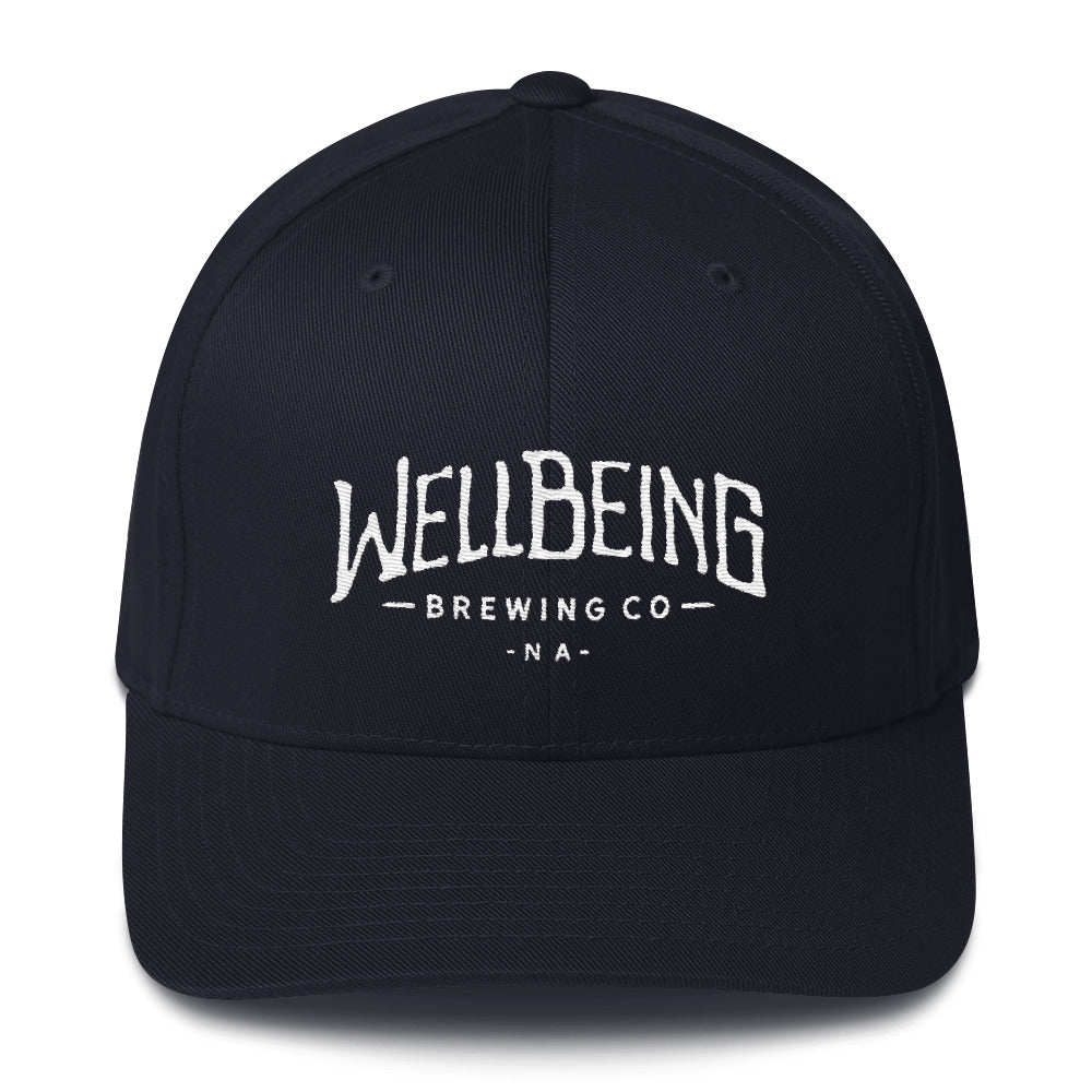 WellBeing Brewing Structured Twill Cap