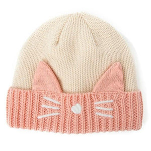 Apparel - Cat Beanie With Ears And Whiskers
