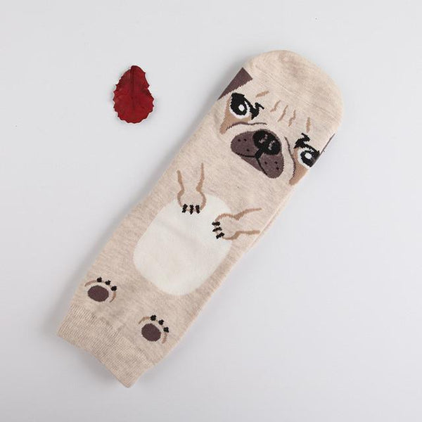 Apparel - Cotton Dog Socks