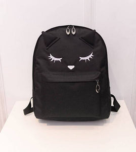 Bag - Cat Face Backpack