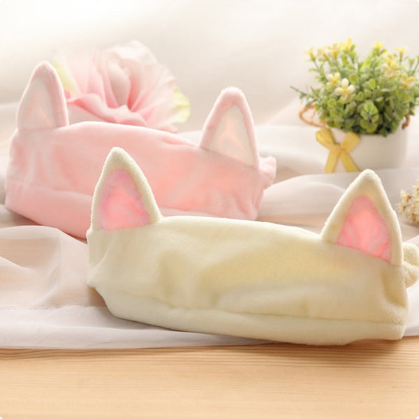 Cat Ear Face Washing Hair Band