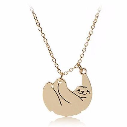 Jewelry - Dangling Sloth Necklace