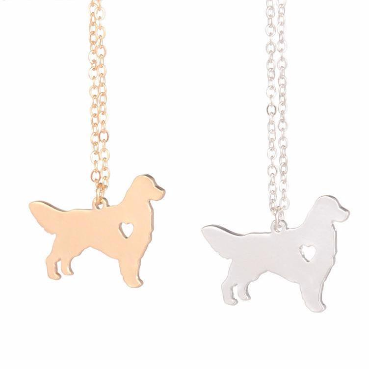 Jewelry - Golden Retriever Pendant Necklace