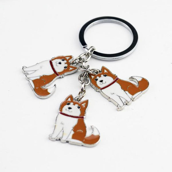Jewelry - Husky Pendant Key Chain, Necklace, Brooch, Or Bracelet