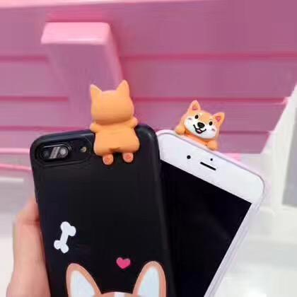Phone - Peeking Corgi IPhone Case