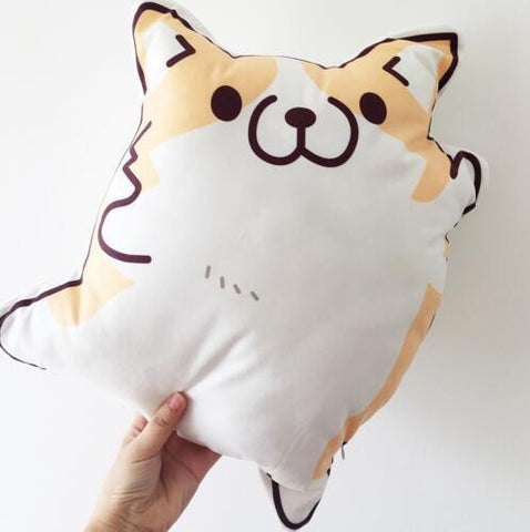 Plush - Cartoon Corgi Plush Pillow