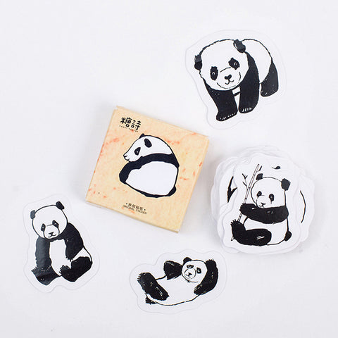 Panda Stickers - 45 Pieces