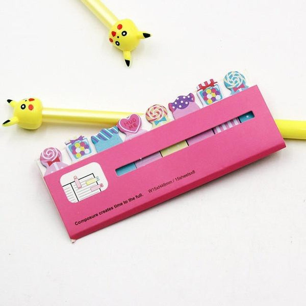 "Stationery - Assorted Animal ""Peep Out!"" Sticky Notes"