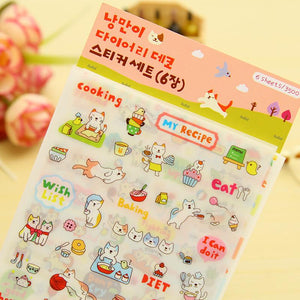Stationery - Assorted Korean Stickers