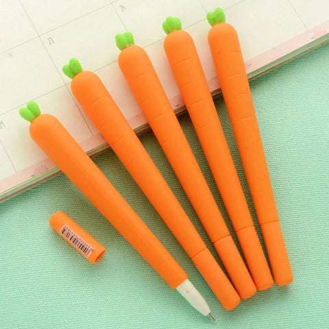 Stationery - Carrot Gel Pen