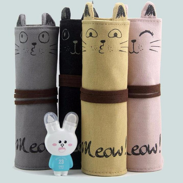 Stationery - Cat Rollup Pencil Case