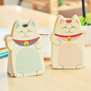 Stationery - Maneki Neko Sticky Notes