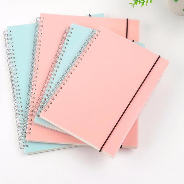 Stationery - Pastel Spiral-Bound Notebooks