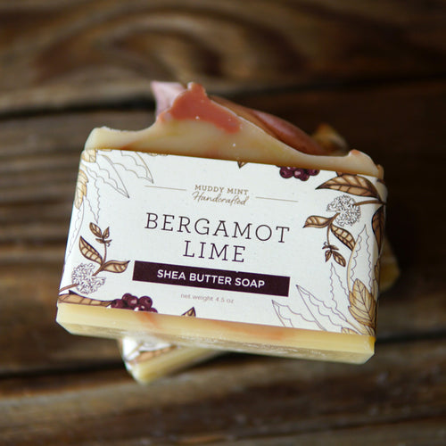 Bergamot Lime - Shea Butter & Goat Milk Soap (100% Natural)