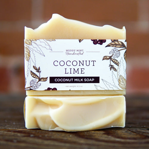 Coconut Lime - Coconut Milk Soap (100% Natural)