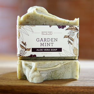 Garden Mint - Aloe Vera Soap (100% Natural)
