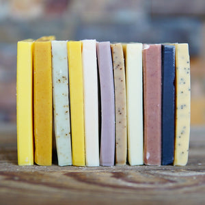 Soap Ends - Bundle of FOUR Soap End Samples