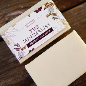 The Minimalist - Unscented Soap (100% Natural)