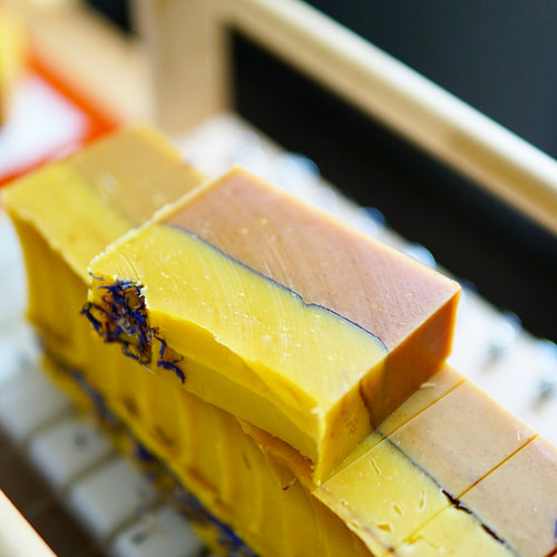 Orange & Clove - Carrot + Turmeric Soap (100% Natural)
