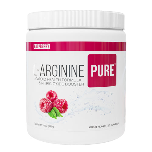 L-Arginine Pure ® Drink Mix | RASPBERRY Flavor