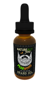 Beard Oil - Pearwood - (1 oz) - Moisturize Skin, Stimulate Growth, Make Hair Softer, Smooth, No Left over Residue, Eliminate Itchy Skin, Treat Split Ends