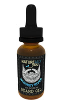 Beard Oil - Whiskey River Scent - (1 oz) - Moisturize Skin, Stimulate Growth, Make Hair Softer, Smooth, No Left over Residue, Eliminate Itchy Skin, Treat Split Ends