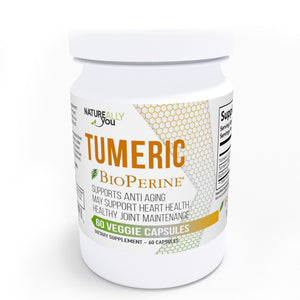 Turmeric with Bioperine (60 capsules, 650mg) Immunity Booster, Anti-inflammatory, Promotes digestive health, Regulates Metabolism and weight management, regulate high blood pressure