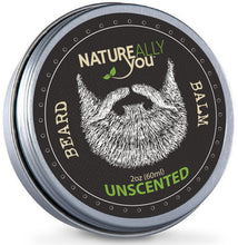 Beard Balm - UNSCENTED - (2 oz) - NATUREALLY YOU ©