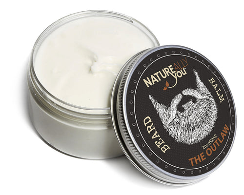 Beard Balm - THE OUTLAW Scent - (2 oz) - NATUREALLY YOU ©