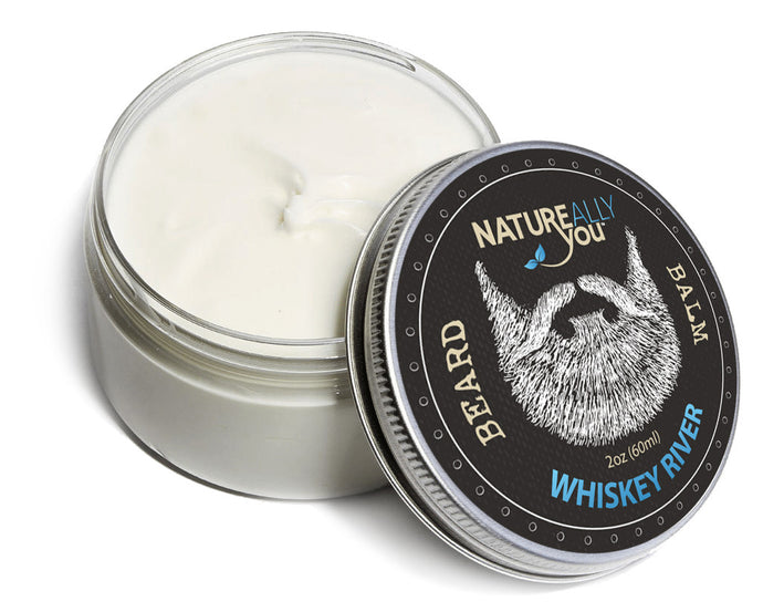 Beard Balm - WHISKEY RIVER Scent - (2 oz) - NATUREALLY YOU ©