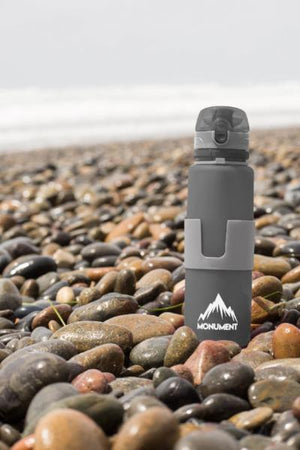 Monument Collapsible Sports and Travel Water Bottle