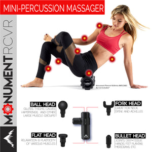NEW!! - RCVR Compact Massage Gun