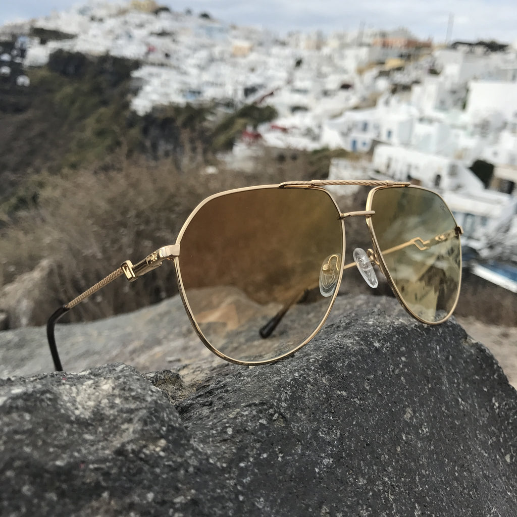 61edd426ece The Escobar Sunglasses - The Gold Gods – CALIFORNIA ACCESSORIES