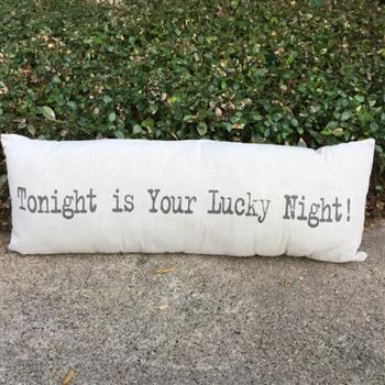 Not Tonight Decorative Pillow