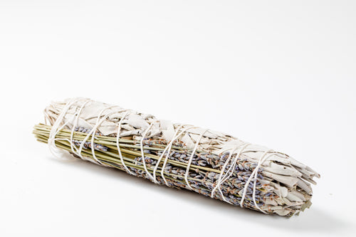 White Sage + Lavender Smudge Large