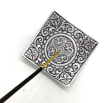 Floral Square Incense Holder