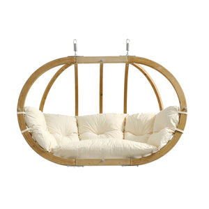 Amazonas Globo Royal Double Seater Hanging Chair Natura - Cool Hammocks