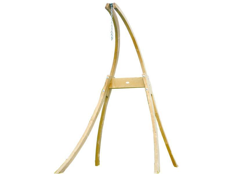 Atlas Wooden Hanging Chair Stand