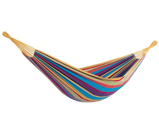 Vivere Cotton Double Hammock Tropical - Cool Hammocks