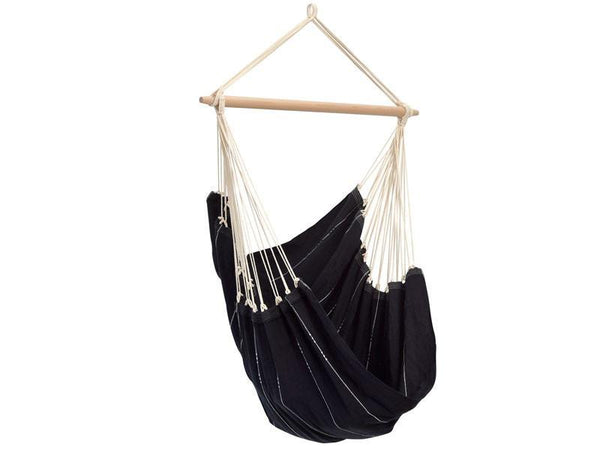 Amazonas Brazil Hanging Chair Black - Cool Hammocks