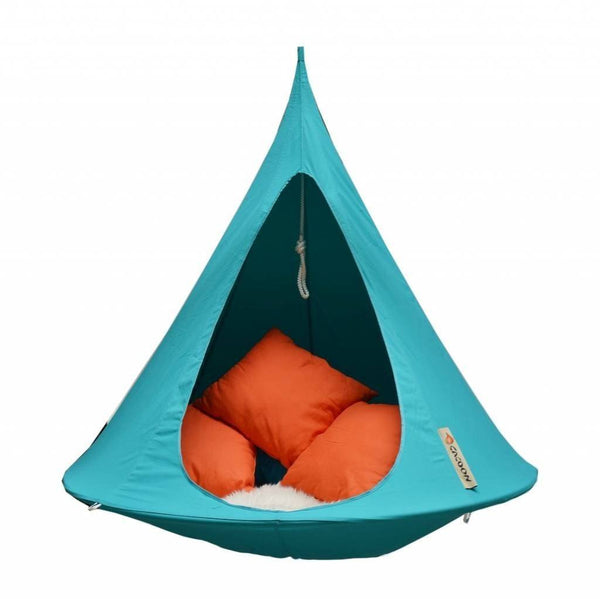 Cacoon Single Cacoon Light Blue - Cool Hammocks