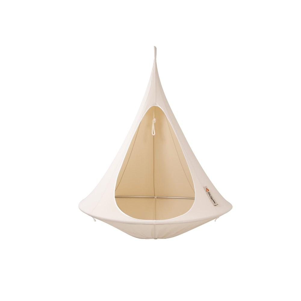 Cacoon Single Cacoon Natural White - Cool Hammocks