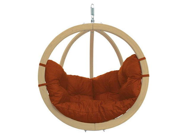 Amazonas Globo Single Seater Hanging Chair Terracotta - Cool Hammocks