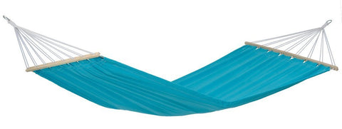 Amazonas Miami Double Hammock with Spreader Bar Aqua - Cool Hammocks